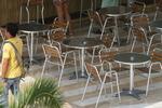 Алуминиеви маси за ресторант за открито