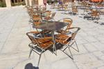 Устойчив алуминиев стол за басейн