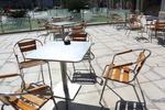 Устойчиви столове от алуминий