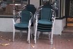 Устойчив стол от алуминии за дома,заведението,басейна,градината