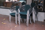 Устойчив алуминиев стол за външно и вътрешно ползване