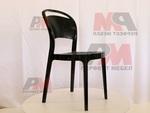 Универсален стол от пластмаса за заведение, за външно използване