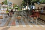 Градински алуминиеви маси за кафенета