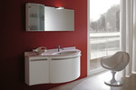 овални мебели за баня модернистични