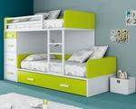 Уникалност в детска стая с двуетажно легло по поръчка