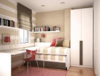 Компактна детска стая за две деца