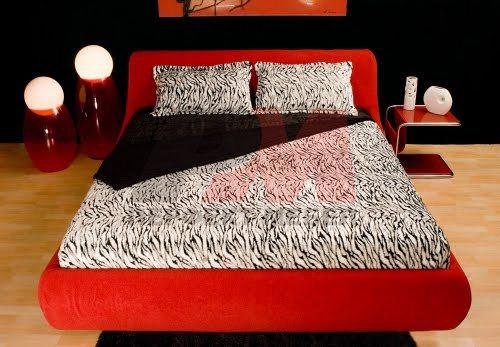 Поръчкова изработка на луксозни тапицирани легла с механизъм за повдигане на матрака