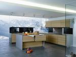 Поръчкова кухня модерна за къща