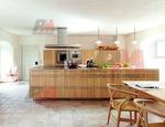 Проектиране на праволинейни кухненски модулни шкафове за къща
