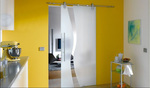 стъклени плъзгащи врати модернистични