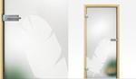 дизайнерски стъклени врати солидни