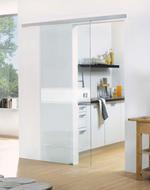 модернистични  дизайнерски стъклени врати