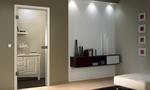 модернистични  стъклени врати