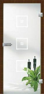 солидни  стъклени врати