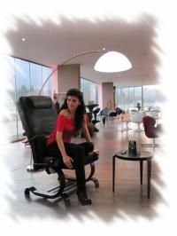 Офис стол с масаж
