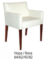 Бяло кресло луксозно