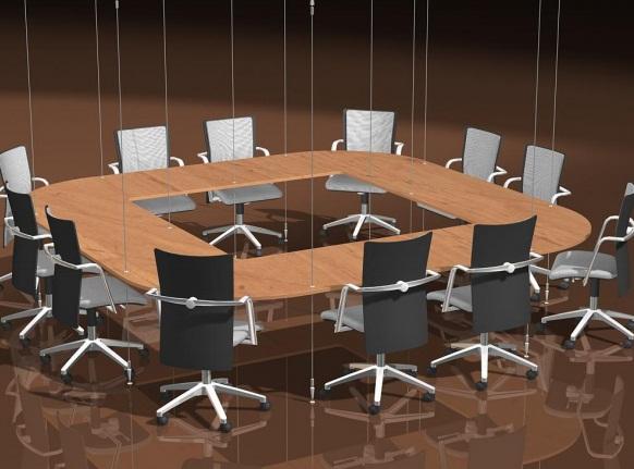 Висяща заседателна маса