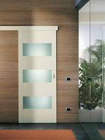 прекрасни  плъзгащи интериорни врати със стъкло