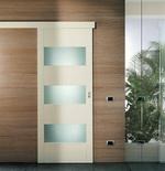 плъзгащи интериорни врати със стъкло ненарушими