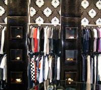 Интериорен дизайн на магазини за дрехи