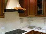 Кухня по поръчка с абсорбатор 205-2616