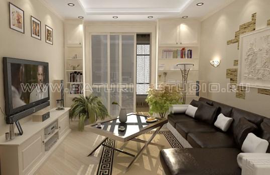 Луксозни мебели за хол по поръчка 94-2622