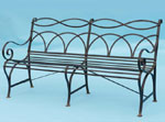 Мека мебел от ковано желязо
