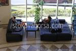луксозна мека мебел по поръчка за хотели