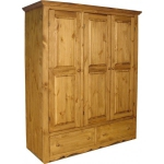 Изработка на шкафове от масивно дърво по клиентска поръчка