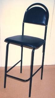 Висок тапициран стол за заведение