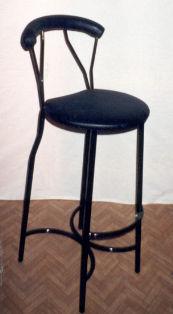 Бар стол за заведение тапициран