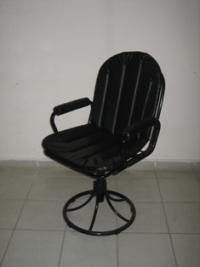 Тапициран въртящ се стол