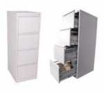 метален шкаф