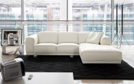 Италиански диван с лежанка