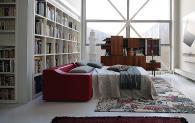 Модерен италиански диван тип спалня
