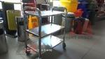 Професионални метални колички за заведения