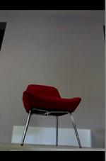вносни червени  офис кресла