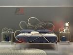 дизайнерски спални ковано желязо зa мотел