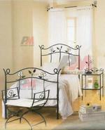 Здрави дизайнерски спални ковано желязо