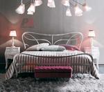 Скъпи дизайнерски спални ковано желязо